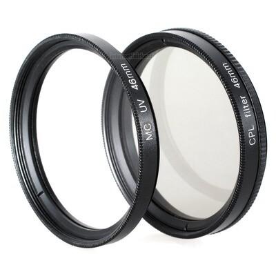 UV + Pol Filter 46mm
