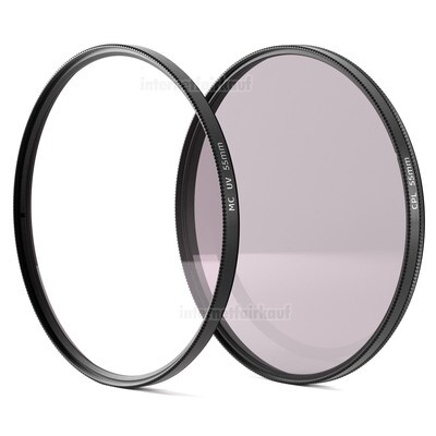 UV + Pol Filter 55mm