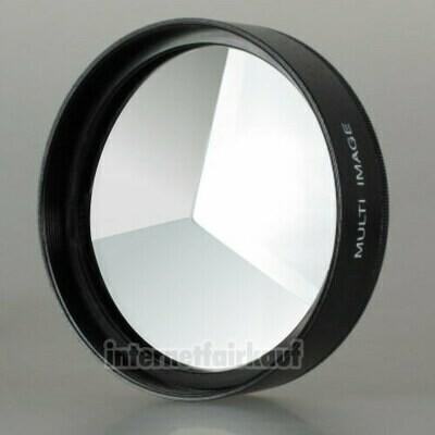 3-fach Multi Image Filter Prisma Tricklinse 49mm