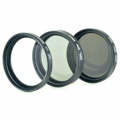 UV + Pol + ND8 Filter 39mm