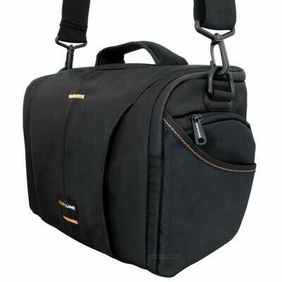 Schultertasche passend für Nikon Coolpix P1000 und Zubehör - Fototasche