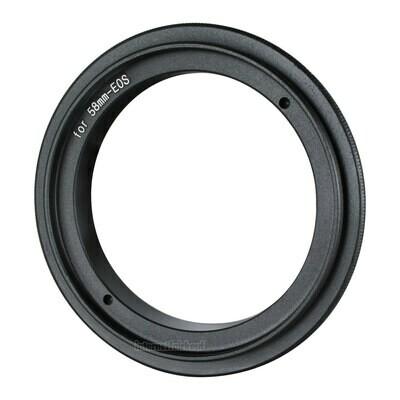 Umkehrring 58mm für Canon EOS