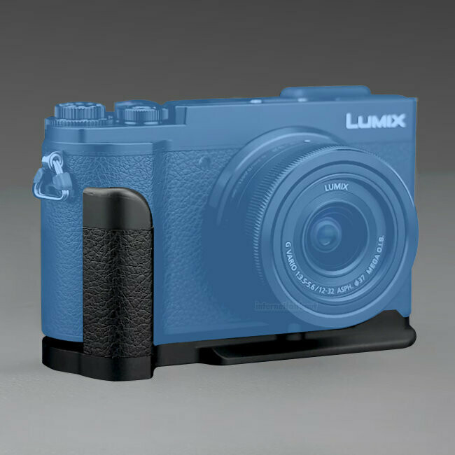 JJC HG-GX9  - Kamera-Handgriff  für Panasonic GX7 Mark 2 / 3, GX9, GX80, GX85
