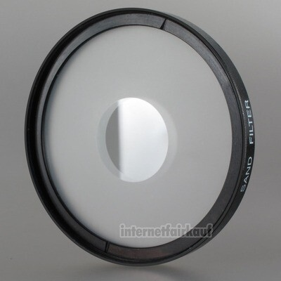 Center-Image Sand-Filter 58mm