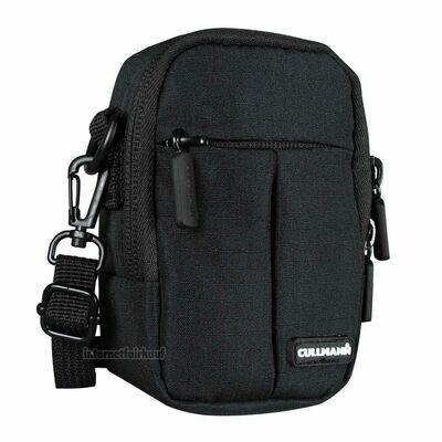 Gürteltasche Schultertasche schwarz passend für Panasonic Lumix DMC-LX15