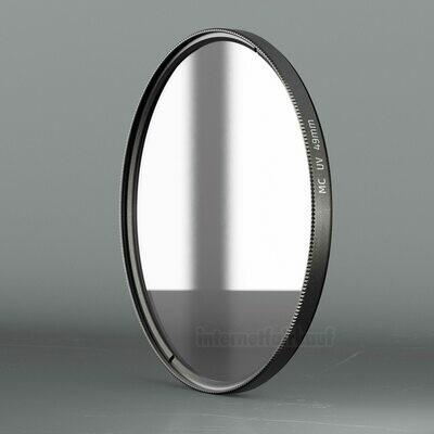 UV Filter Schutzfilter passend für Sony Alpha A6100 A6400 A6600 und 55-210mm Objektiv