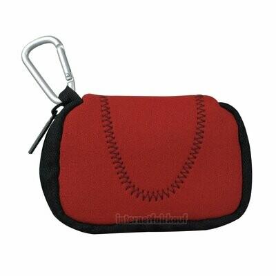Kameratasche Etui Hülle rot passend für Nikon Coolpix A10 A100 A300