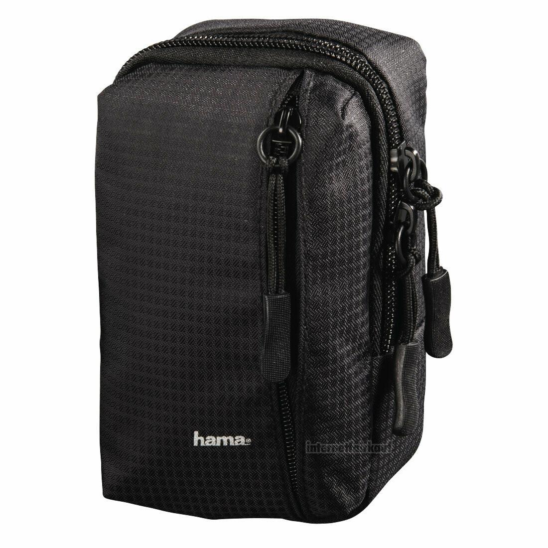 Hama Kameratasche Fancy Sporty 80M schwarz
