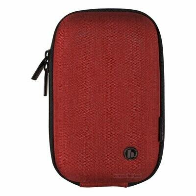 Hama Hartschalen Foto-Tasche rot passend für Nikon Coolpix W150 W100 S33 S32 S31