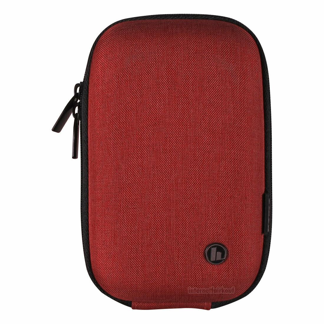 Hardcase Kameratasche rot passend für Olympus Tough TG-3 TG-4 TG-5 TG-6