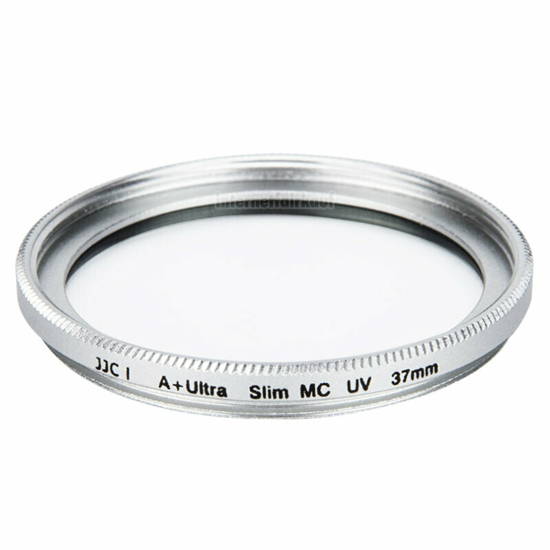 JJC F-MCUV37 - UV Filter 37mm slim, silber