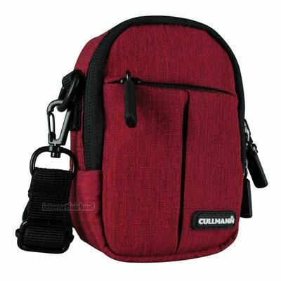 Kameratasche Schultertasche rot passend für Canon Powershot SX200 IS S90