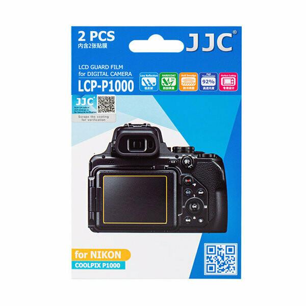JJC LCP-P1000 - LCD Display Schutzfolien für Nikon Coolpix P1000 P950