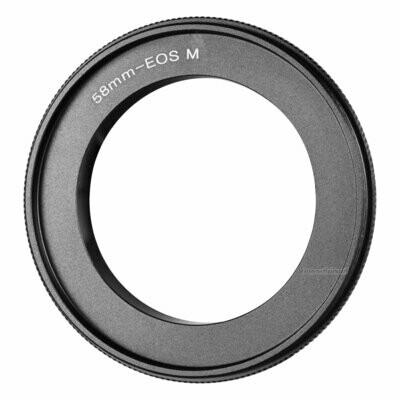 Umkehrring 58mm für Canon EOS M
