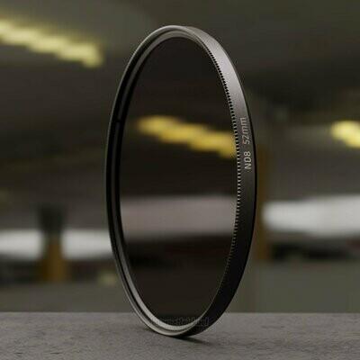 Graufilter ND8 52mm