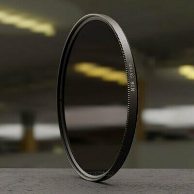 Graufilter ND8 55mm