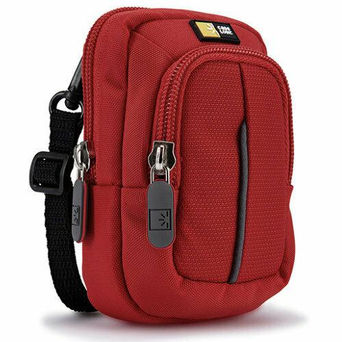 Kameratasche Fototasche rot passend für Panasonic DC-TZ25 TZ31