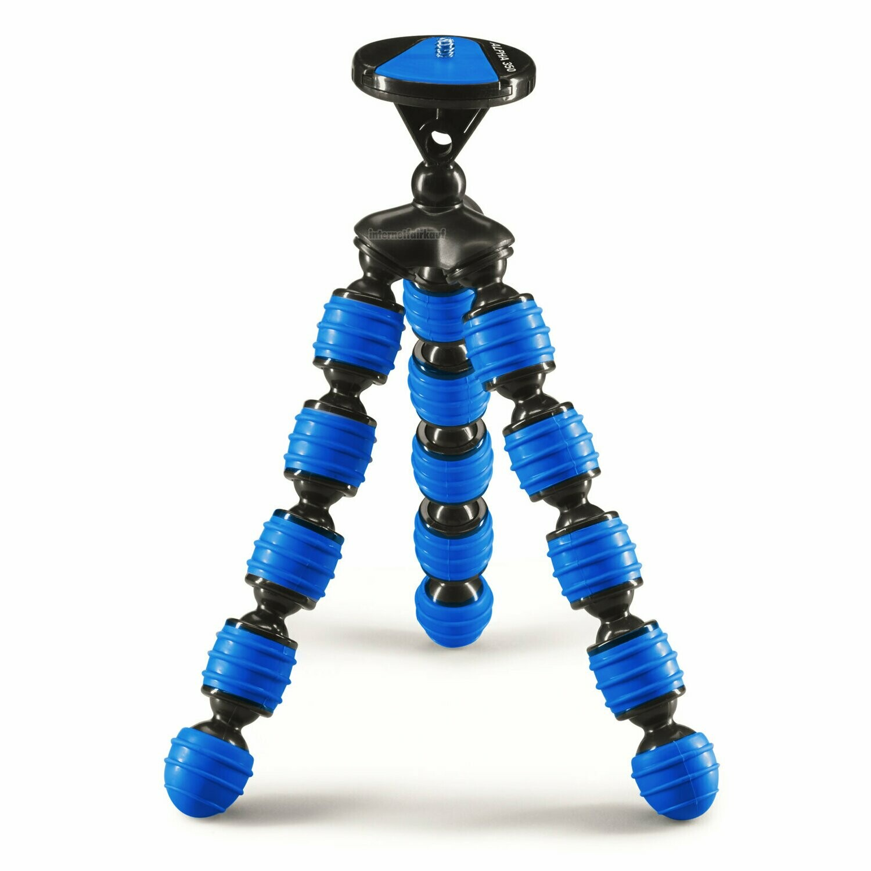 Cullmann ALPHA 350, blau flexibles Stativ