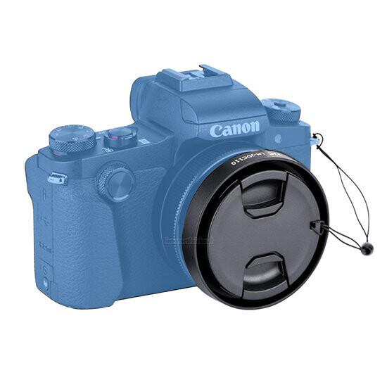 JJC LH-JDC110 Filteradapter Gegenlichtblende für Canon G1X Mark III