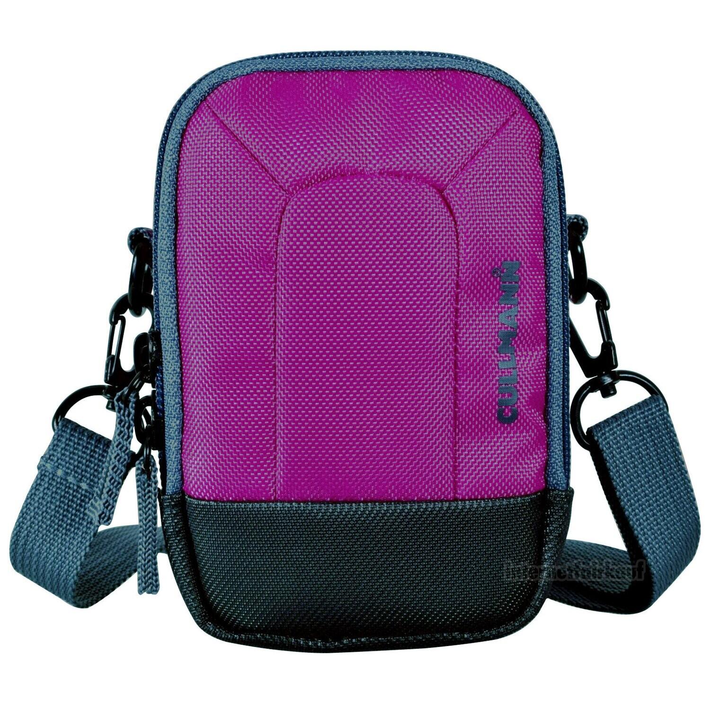 Kameratasche purple passend für Canon PowerShot G5X Mark II - Fototasche