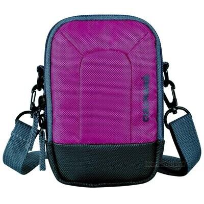 Kameratasche purple passend für Panasonic Lumix DC-TZ202 DMC-TZ101