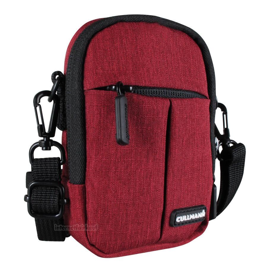 Gürteltasche Schultertasche rot passend für Sony DSC-WX500