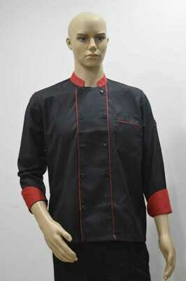 Chef Coat with 2 piping