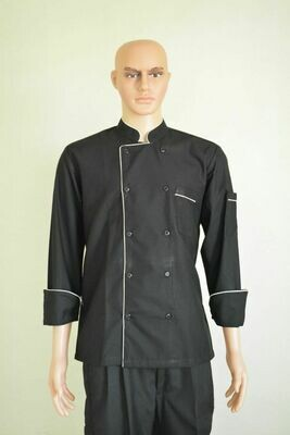 Executive Chef Coat with 1 piping