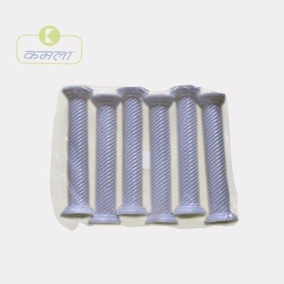 Cake Pillar Round (Set of 6 pcs)