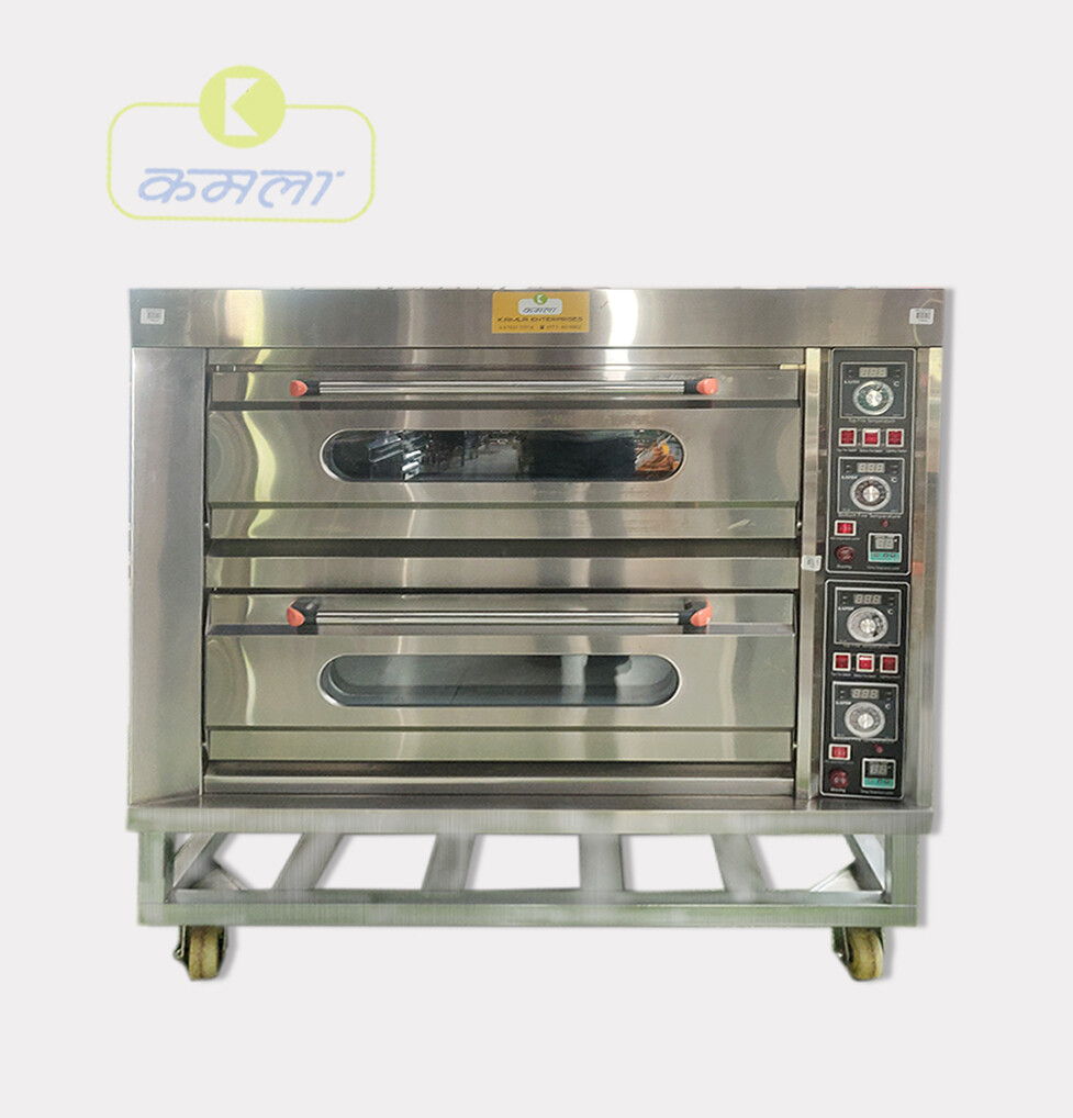 Gas Oven 2 Deck 4 Tray