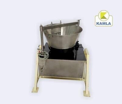 Mawa machine 70 ltr SS Body Tilting model