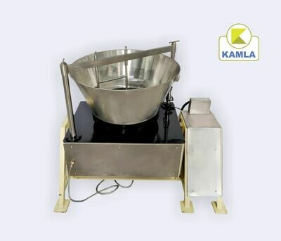 Mawa machine 130 ltr SS Body Tilting model