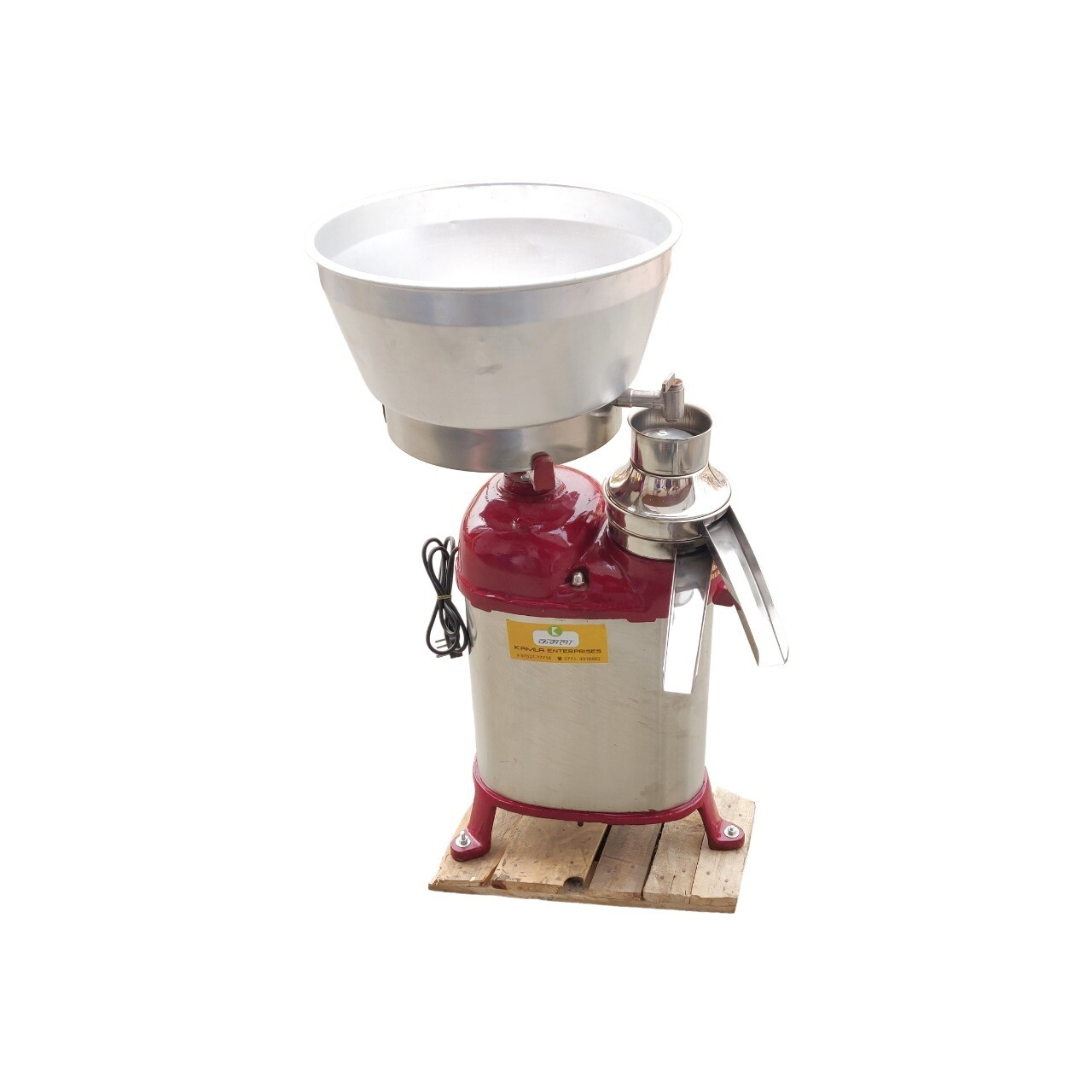 Milk Cream Separator Machine - 300 Liters