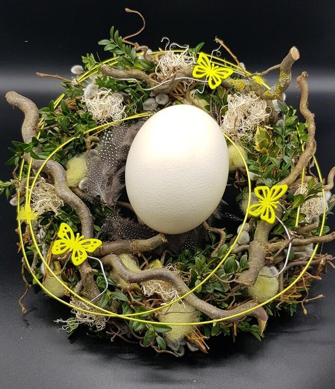 Straußen Ei