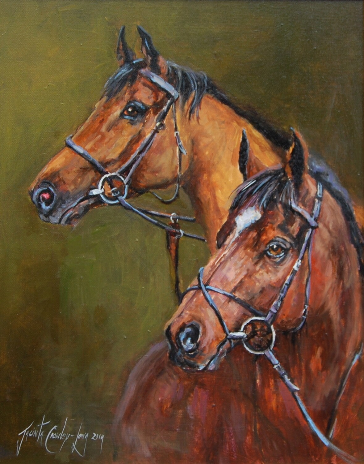 Tiger Roll and Red Rum (20x16ins)