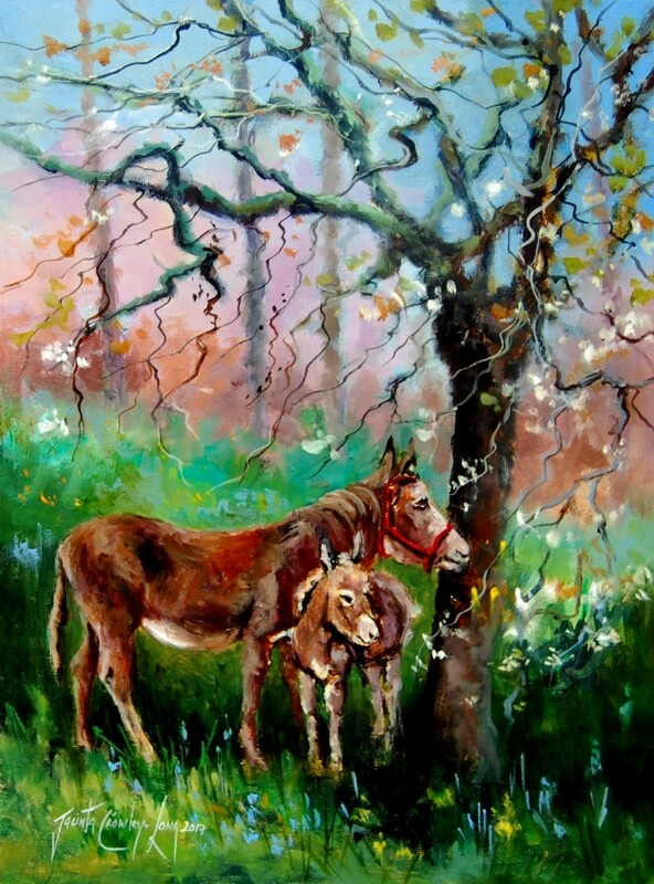 The Spring Foal (18x14 ins)