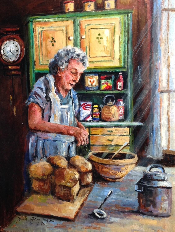 "Daily Bread (18 x 14"")"