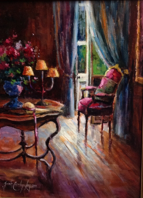 "The Flower Room (16 x 12"")"