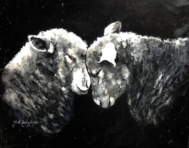 "I Love Ewe (16 x 20 "")"