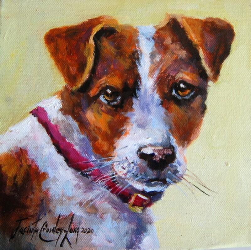 "Pup Idol (8 x 8"")"