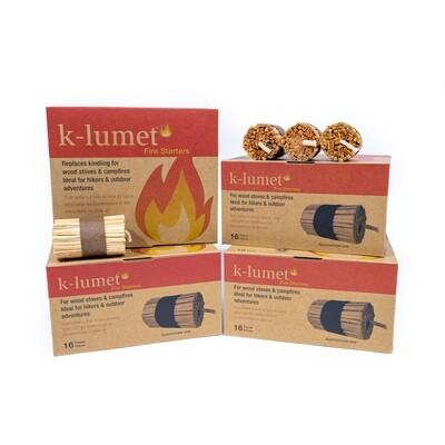 K-lumet Fire Starter Eco Pack