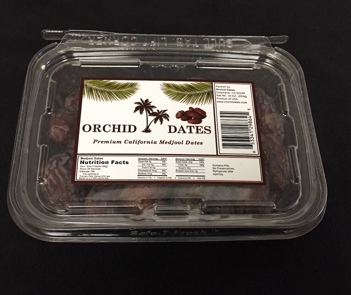 ORCHID DATES BOX