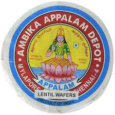 AMBIKA APPLAM PAPAD 225 GM