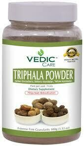 VEDIC TRIPHALA POWDER 100GM