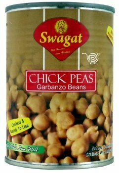 SWAGAT CHICKPEAS 400GM