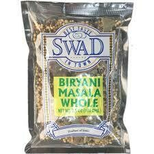 SWAD WHOLE Biryani MASALA 100GM