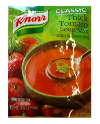KNORR SOUP THICK TOMATO 55GM