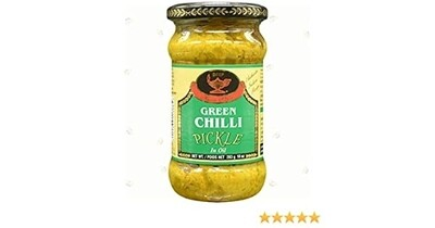 DEEP GREEN CHILI PICKLE 10OZ