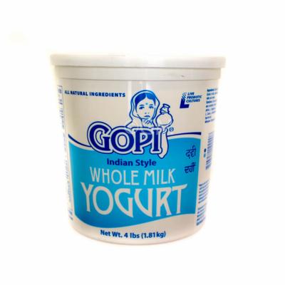 GOPI YOGURT WHOLE  4lbs