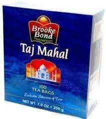 TAJMAHAL TEA BAG 100'S